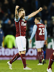 Burnley players celebrate after the final whistle - Photo mandatory by-line: Matt McNulty/JMP - Mobile: 07966 386802 - 14/03/2015 - SPORT - Football - Burnley - Turf Moor - Burnley v Manchester City - Barclays Premier League