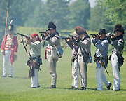 The Battle of Crysler's Farm  Canadian Voltigeurs form skirmish line during Crysler's Farm re-enactment  The Battle of Crysler's Farm.