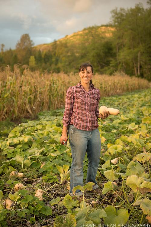 Sarah Kleeger of Adaptive Seeds in Sweet Home, Oregon.