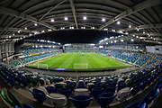 A general view of Windsor Park ahead of the UEFA European 2020 Qualifier match between Northern Ireland and Netherlands at National Football Stadium, Windsor Park, Northern Ireland on 16 November 2019.