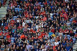 WIGAN, ENGLAND - Friday, July 14, 2017: Liverpool supporters during a preseason friendly match against Wigan Athletic at the DW Stadium. (Pic by David Rawcliffe/Propaganda)