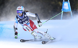 27.01.2018, Lenzerheide, SUI, FIS Weltcup Ski Alpin, Lenzerheide, Riesenslalom, Damen, im Bild Camille Rast (SUI) // Camille Rast of Switzerland in action during the ladie's Giant Slalom of FIS ski alpine world cup in Lenzerheide, Austria on 2018/01/27. EXPA Pictures © 2018, PhotoCredit: EXPA/ Sammy Minkoff<br /> <br /> *****ATTENTION - OUT of GER*****