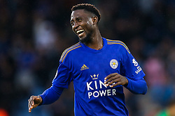 Wilfred Ndidi of Leicester City celebrates scoring a goal to make it 5-0 - Mandatory by-line: Robbie Stephenson/JMP - 29/09/2019 - FOOTBALL - King Power Stadium - Leicester, England - Leicester City v Newcastle United - Premier League