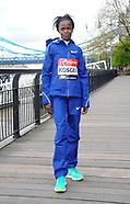 London Marathon photocall