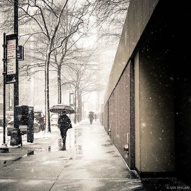 Winter in New York City, U.S.A., 2015
