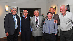 Pictured are the organisers of the  Past Pupils reunion of Rossduane N.S. Kilmeena that took place in the Clew Bay Hotel recently were Hugh Feehan, Tony Quinn, Sean O'Malley, PJ and Patrick Mulroy and Pete Feehan...Pic Conor McKeown