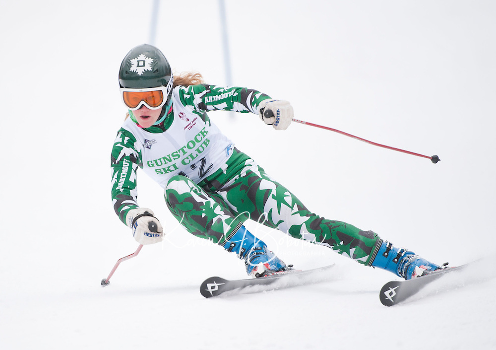 Macomber Cup at Gunstock second run ladies giant slalom January 29, 2011.