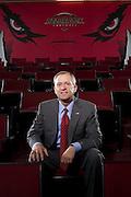 Athletic Director of the University of Arkansas, Jeff Long for Arkansas Life Magazine Jeff Long, Athletic Director at the University of Arkansas Razorbacks in Fayetteville Arkansas