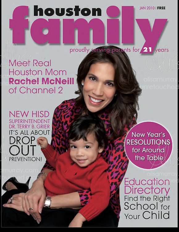 Houston Family January Cover 2010