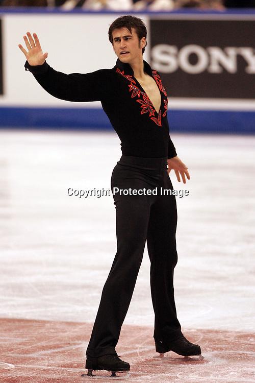 Ryan Bradley (USA), <br /> NOVEMBER 1, 2008 - Figure Skating : <br /> Ryan Bradley of USA performs the mens Free Skate of the Skate Canada, ISU Grand Prix of Figure Skating 2008/2009, 1 November 2008 in Ottawa, Canada. (Photo by AFLO) [2090]