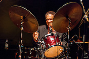 """Al Foster performing for the """"Jazz festival of Madrid"""""""