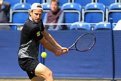 Peter Gojowczyk of Germany in action - Mandatory by-line: Matt McNulty/JMP - 31/05/2016 - TENNIS - Northern Tennis Club - Manchester, United Kingdom - AEGON Manchester Trophy