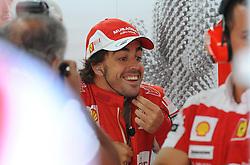 22.10.2010, Korea International Circuit, Yeongam, KOR, F1 Grandprix of Korea, im Bild .Fernando Alonso (ESP),  Scuderia Ferrari, EXPA Pictures © 2010, PhotoCredit: EXPA/ InsideFoto/ Hasan Bratic *** ATTENTION *** FOR AUSTRIA AND SLOVENIA USE ONLY!