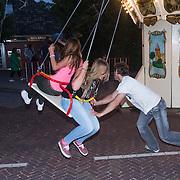 NLD/Blaricum/20130821 - Shinsu 2013, Diana Janssen en Daisy in de draaimolen
