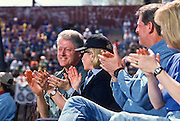 President Bill Clinton with wife Hillary, Al Gore and Tipper at the Presidents Summit for America's Future in Philadelphia, PA.