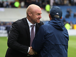 West Bromwich Albion manager Tony Pulis and Burnley manager Sean Dyche (L) before the match - Mandatory by-line: Jack Phillips/JMP - 19/08/2017 - FOOTBALL - Turf Moor - Burnley, England - Burnley v West Bromwich Albion - Premier League