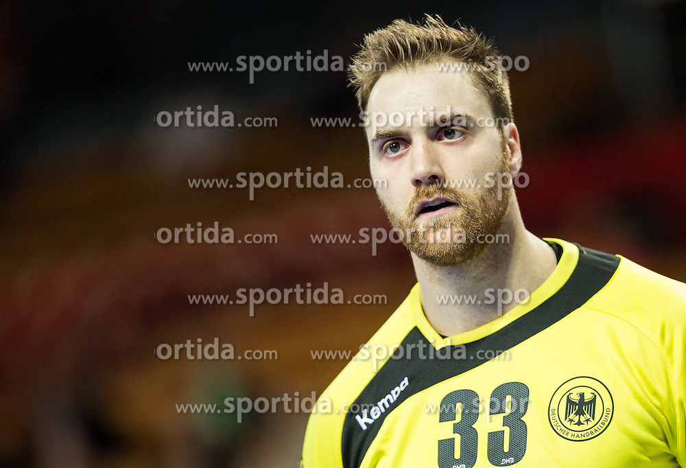 Andreas Wolff of Germany during handball match between National teams of Germany and Slovenia on Day 6 in Preliminary Round of Men's EHF EURO 2016, on January 20, 2016 in Centennial Hall, Wroclaw, Poland. Photo by Vid Ponikvar / Sportida