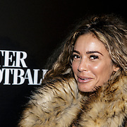 NLD/Amsterdam/20141115 - Life After Football fair 2014, Fajah Lourens
