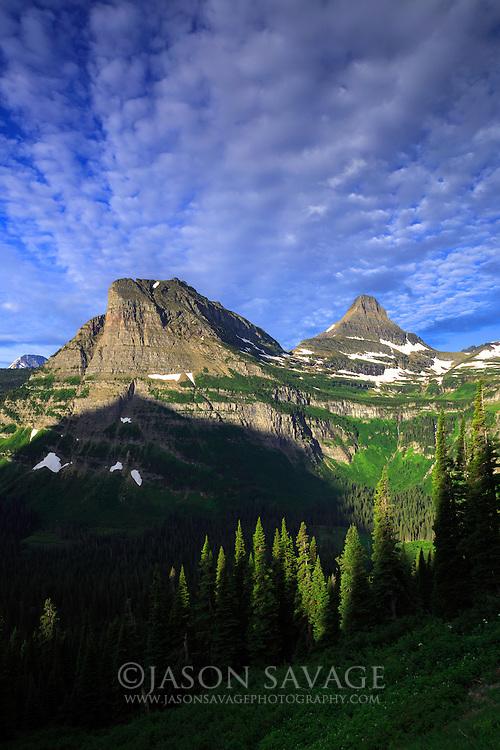 Sunrise in Glacier National Park, Montana