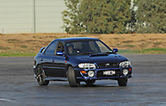 Brenton Homer .Subaru Impreza WRX.SAU Deca Motorkhana sponsored by Micolour.Shepparton, Victoria .23rd of May 2009.(C) Joel Strickland Photographics.Use information: This image is intended for Editorial use only (e.g. news or commentary, print or electronic). Any commercial or promotional use requires additional clearance.