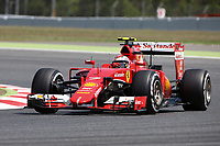 07 RAIKKONEN kimi (fin) ferrari sf15t action during 2015 Formula 1 FIA world championship, Spain Grand Prix, at Barcelona Catalunya from May 8th to 10th. Photo Gregory Lenormand / DPPI