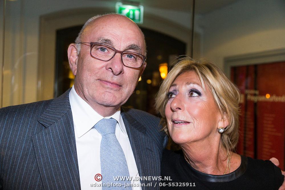 NLD/Leiden/20130930 - Premiere Garland, Michael van Praag en Marga van Praag