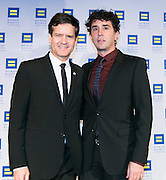NY State Senator Brad Hoylman and David Sigal at the HRC's Greater NY Gala 2014 held at the Waldorf=Astoria in New York City on Saturday, February 8, 2014. (Photo: JeffreyHolmes.com)