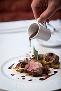Chef David Butters at Douneside House Tarland, Aberdeenshire<br />