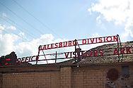 Galesburg Division, Galesburg, IL.