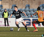 Dundee's Stephen McGinn and Partick Thistle's Abdul Osman - Dundee v Partick Thistle, SPFL Premiership at Dens Park<br /> <br />  - &copy; David Young - www.davidyoungphoto.co.uk - email: davidyoungphoto@gmail.com