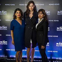 Reyna Harilela (Tatler 100), Ana Rivera model, Shirley Hiranand (Tatler 100) Battersea Power Station hosted an event at the Watermark Restaurant inHong Kong to celebrate the launch of its Global Tour on 30 October 2014 in Hong Kong. Photo by Moses Ng / studioEAST