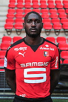 Giovanni Sio - 15.09.2015 - Photo officielle Rennes - Ligue 1 2015/2016<br /> Photo : Philippe Le Brech / Icon Sport
