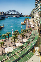 Circular Quay & Harbour Bridge, Sydney Cove