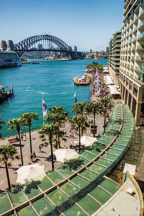 Circular Quay & Harbour Bridge, Sydney Cove