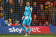 Oxford United goalkeeper Simon Eastwood (1) during the EFL Sky Bet League 1 match between Luton Town and Oxford United at Kenilworth Road, Luton, England on 4 May 2019.