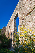 Roman palace ruins in Polace, Mljet Island National Park, Dalmatia, Croatia