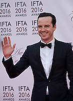Actor Andrew Scott at the IFTA Film & Drama Awards (The Irish Film & Television Academy) at the Mansion House in Dublin, Ireland, Saturday 9th April 2016. Photographer: Doreen Kennedy