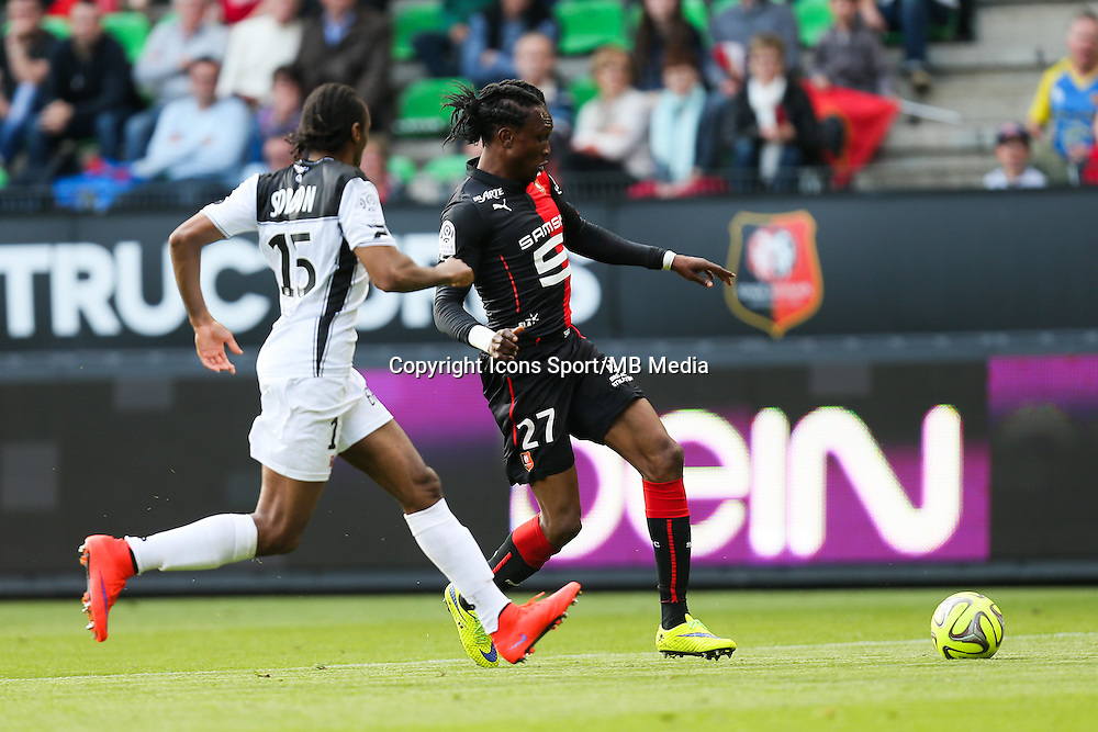 Habib HABIBOU - 12.04.2015 - Rennes / Guingamp - 32eme journee de Ligue 1 <br /> Photo : Vincent Michel / Icon Sport