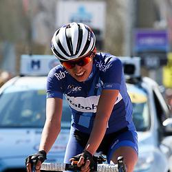 03-04-2016: Wielrennen: Ronde van Vlaanderen vrouwen: Oudenaarde  <br />OUDENAARDE (BEL) cycling <br /> The sixth race in the UCI Womensworldtour is the ronde van Vlaanderen. A race over the famous Flemish climbs. Katarzyna Niewiadowska