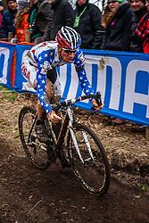 Jeremy POWERS (14,USA), 5th lap at Men UCI CX World Championships - Hoogerheide, The Netherlands - 2nd February 2014 - Photo by Pim Nijland / Peloton Photos