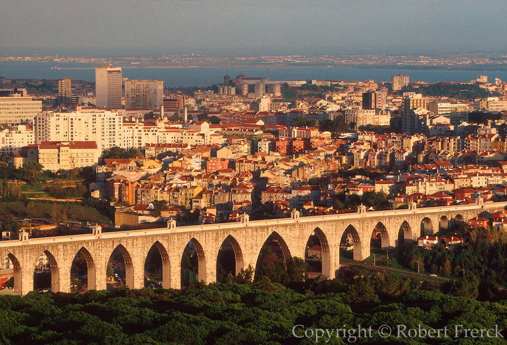 PORTUGAL, LISBON Aqueducto das Aguas Livres, c1748 carried much of the city's water supply