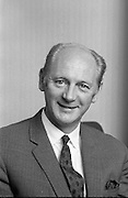 Jack Lynch Taoiseach.Portrait taken 1971..19.04.1971..04.19.1971..19 April 1971...A portrait of An Taoiseach Mr Jack Lynch TD..Born 15th Aug 1917..Died 20th Oct  1999  aged 82..Mr Lynch served as Taoiseach from 10th Nov 1966 until 14th Mar 1973 when he succeeded Mr Sean Lemass.