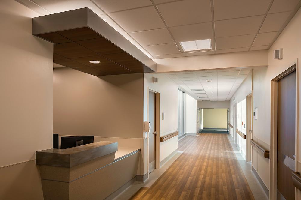 Interiors of Saint Joseph's Med Center Postpartum Suite