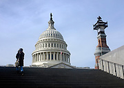 © Licensed to London News Pictures. 03/01/2013. Washington DC, USA .  The Capitol Building. Photo credit : Stephen Simpson/LNP