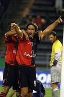 Fotball<br />24/10/03 VELEZ SARSFIELD (0 ) Vs. NEWELLS (3 ). Football - Argentina. Eleventh match of the Torneo Apertura 2003. <br />PATI–O - SILVANI (NEWELLS)<br />Foto: Digitalsport