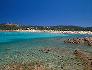 Grande Pevero Beach  Costa Smeralda<br /> Sardinia   Italy