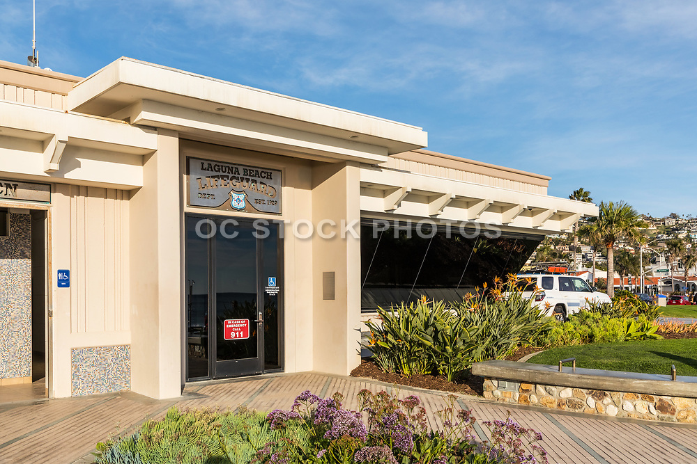 Laguna Beach Lifeguard Headquarters at Main Beach