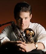 Saxophonist Grady Nichols in Tulsa, OK.