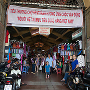 Bến Thành Market is a large marketplace in central Hồ Chí Minh City, Vietnam in District 1. The market is one of the earliest surviving structures in Saigon and one of symbols of Hồ Chí Minh City, popular with tourists seeking local handicrafts, textiles, áo dài and souvenirs, as well as local cuisine. Photography by Jose More