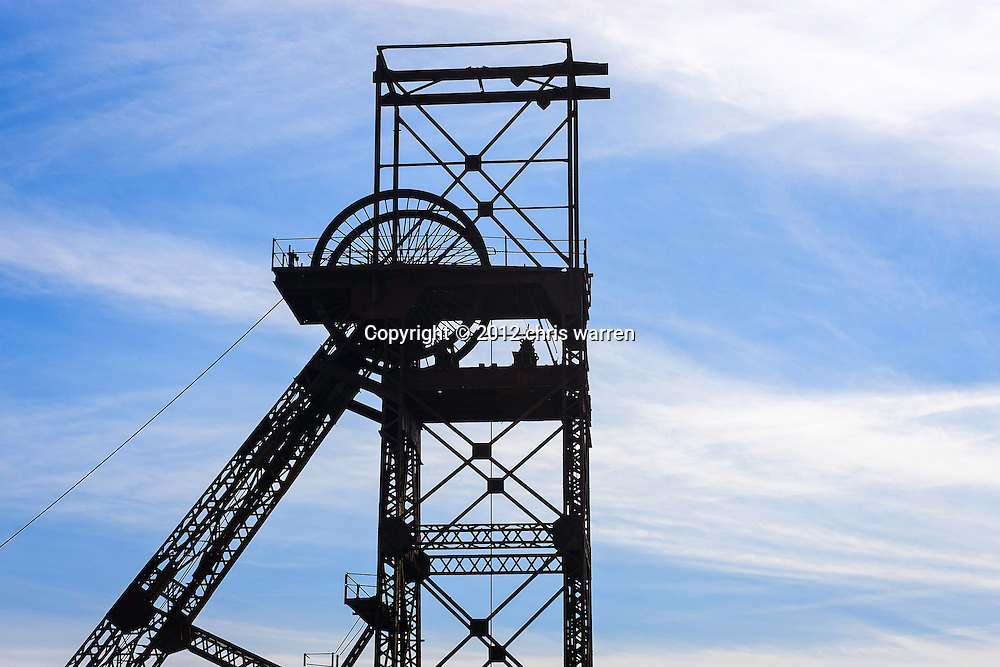 Pithead<br /> Cefn Coed Colliery Museum<br /> Near Seven Sisters<br /> Dulais Valley<br /> Valleys<br /> Neath Port Talbot County<br /> South<br /> Tourist Attractions